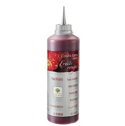 Coulis fruits rouges