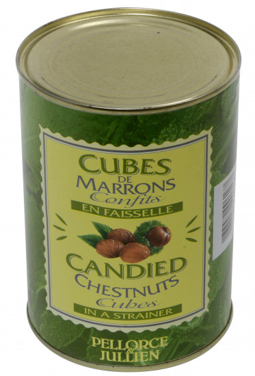 Cubes de Marrons confits 1.3 kg